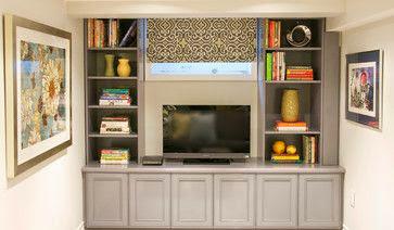 basement window solutions built ins