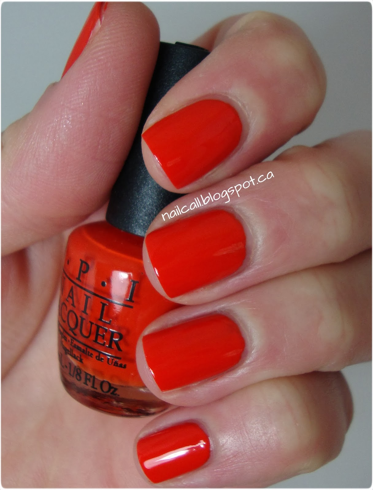 OPI The Drummer is Hot swatch