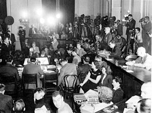 The House on Un-American Activities or HUAC.