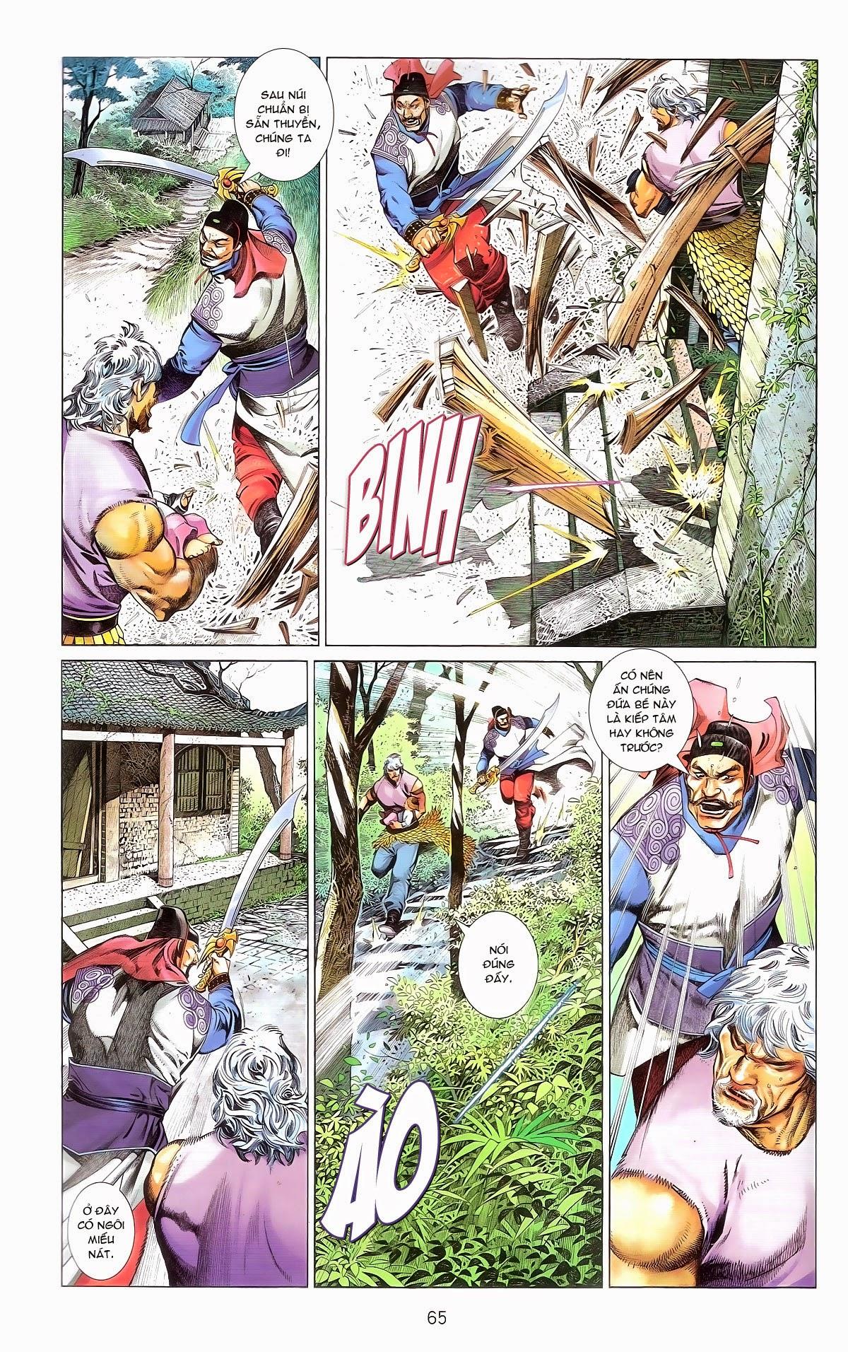 Phong Vân chap 674 – End Trang 67 - Mangak.info