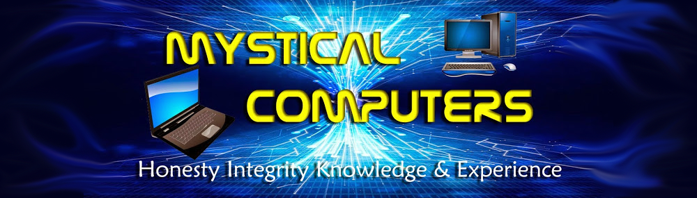 Mystical Computers- Mystic, Ledyard, Groton, Norwich CT- laptop and computer sales and repair