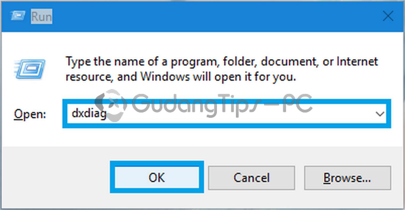 cara cek directx yang terpasang pada windows anda