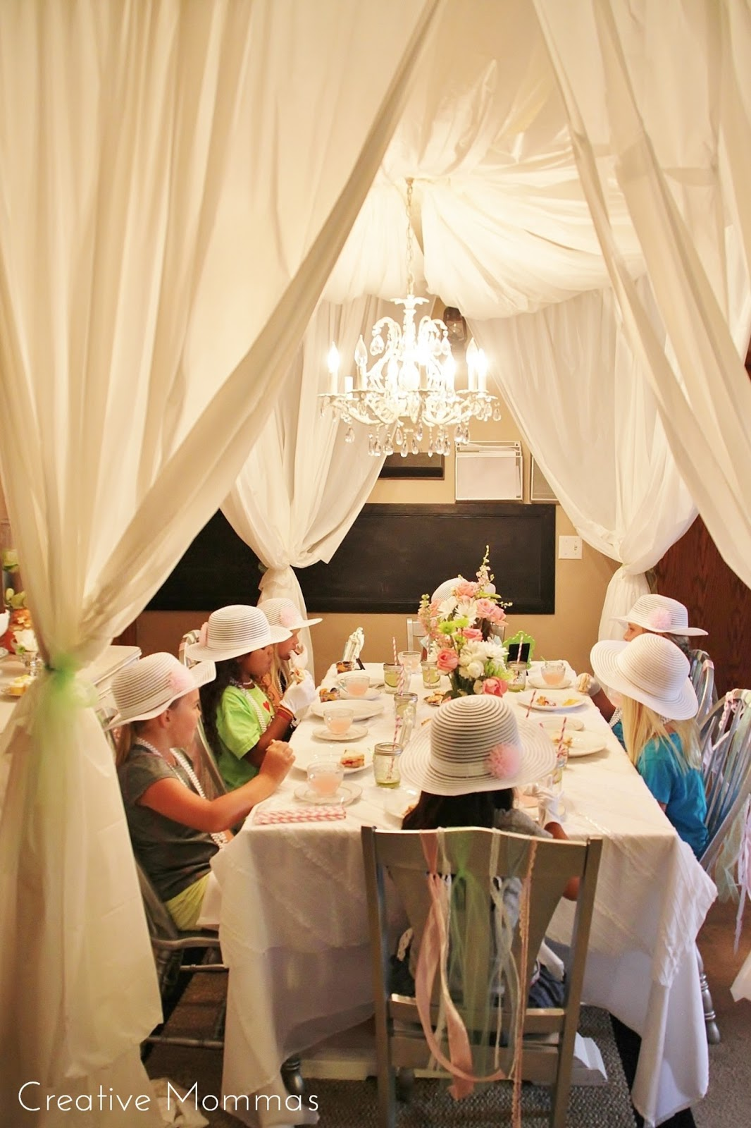 Creative Mommas Tea Party Themed Birthday Party