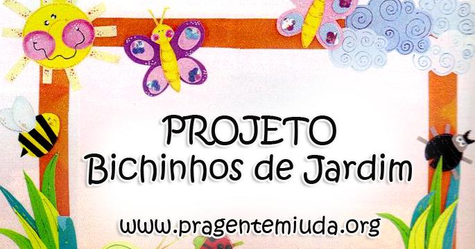 mini jardim de garrafa petProjeto Bichinhos de Jardim para maternal