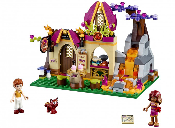 LEGO® Elves Azari and the Magical Bakery Set at artsyfartsymama.com