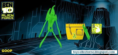 McDonalds Ben 10 Alien Force happy meal toy promotion in Australia and New Zealand 2011 - Goop