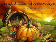 Gratitude Giveaway Hop! Nov 15th to Nov 30th!