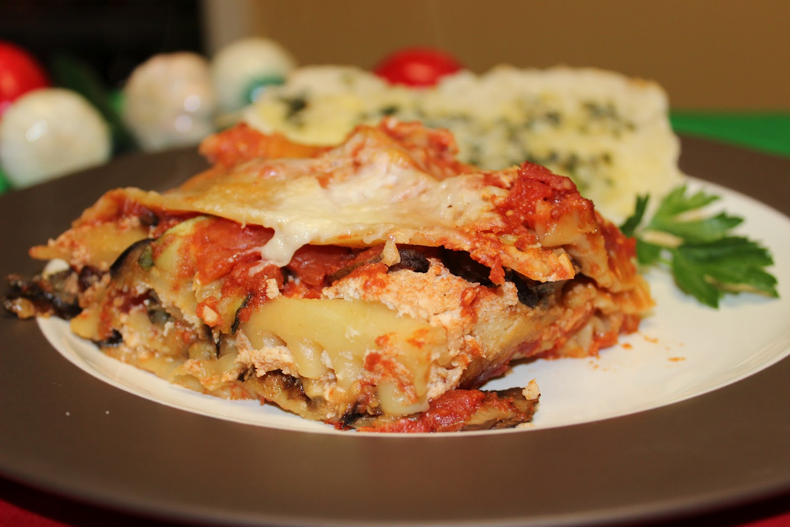 The Cookbook Project: Roasted Vegetable Lasagna
