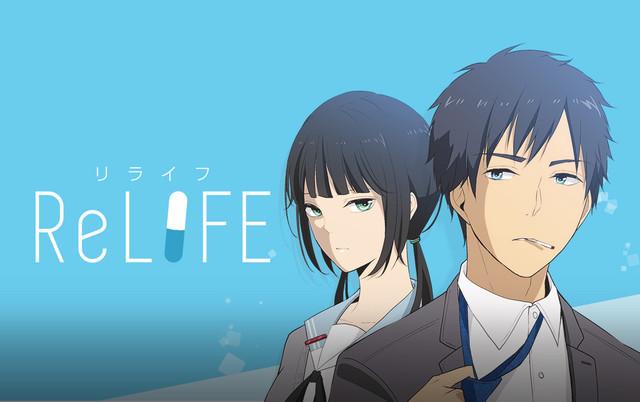 Motyw wizualny anime ReLIFE