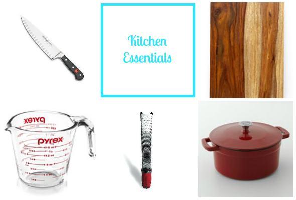 5 Essential Kitchen Items | www.shealennon.com