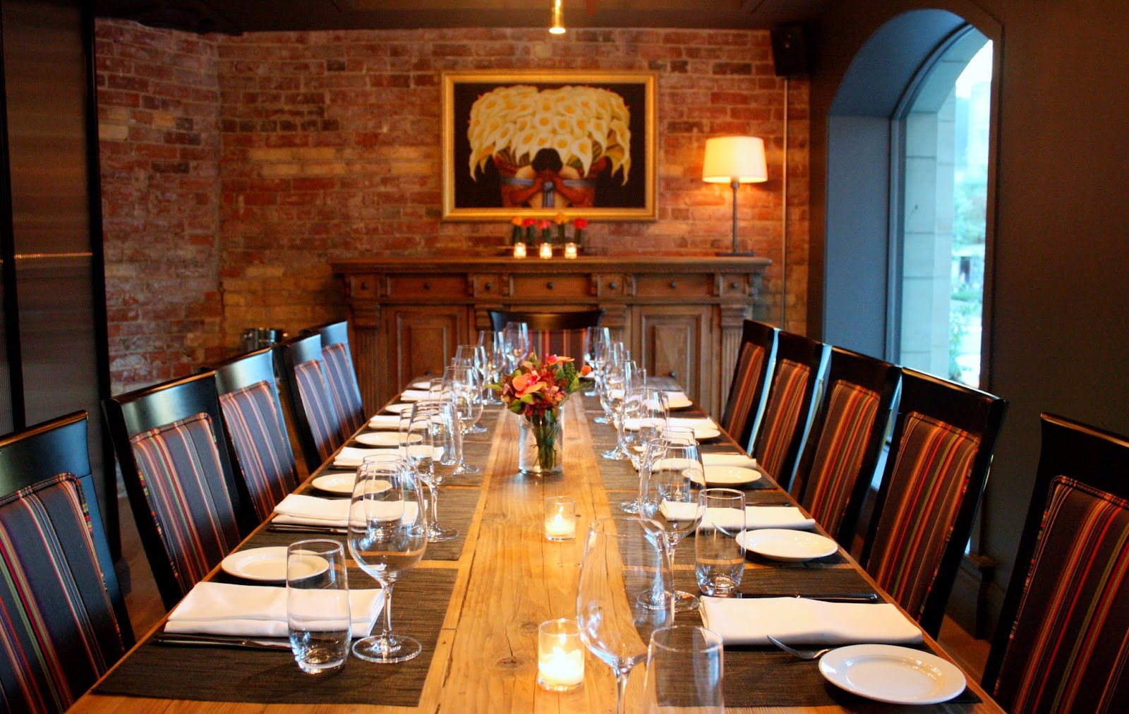 The Restaurant Features Two Private Dining Rooms That Seat 12 And 50  Respectively, Allowing For Both Intimate Private Dining And Private Event  Experiences.