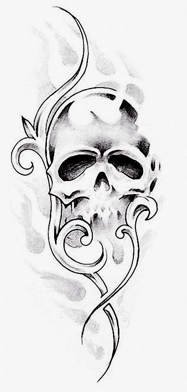 Revered image for free tattoo stencils printable