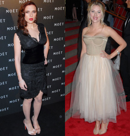 Scarlett Johansson Before And After Weight Loss