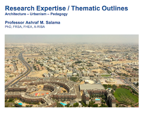 Research Expertise - Thematic Outlines