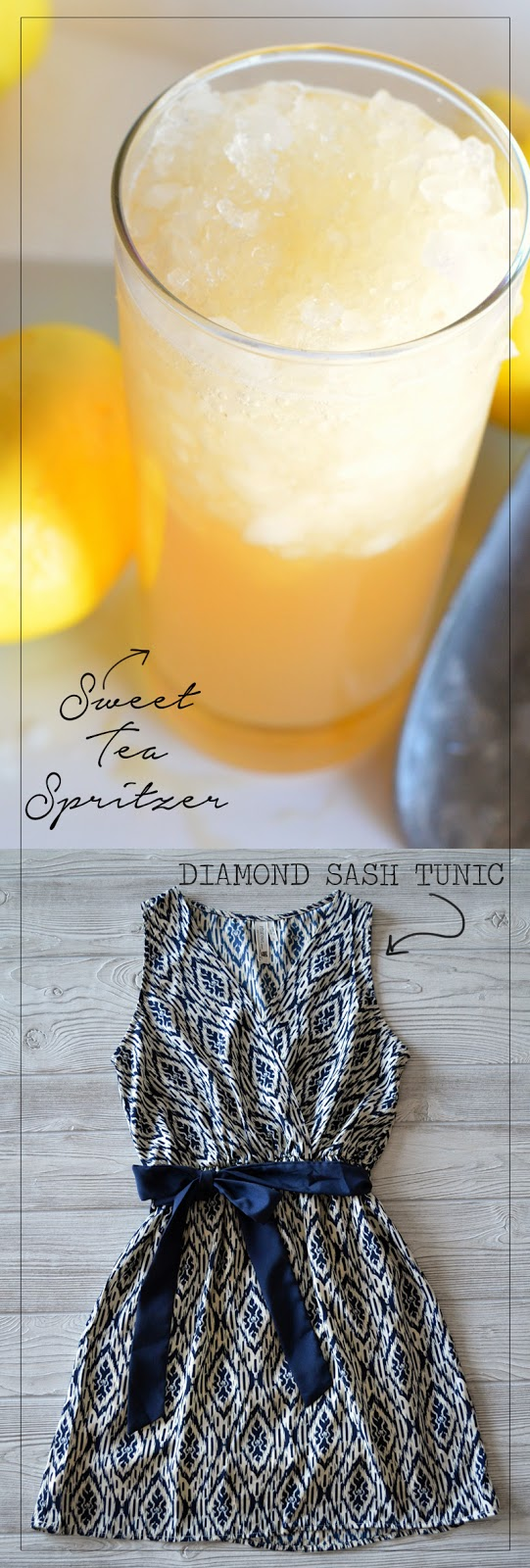 Sweet Tea Spritzer via anightowlblog.com