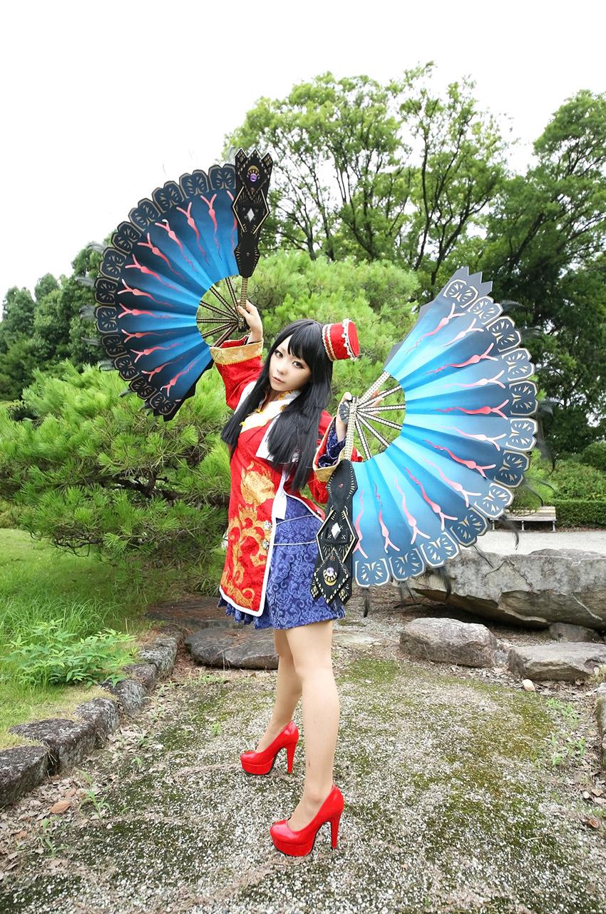 ran higurashi hot nude cosplay 04