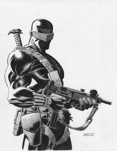 snake eyes real face