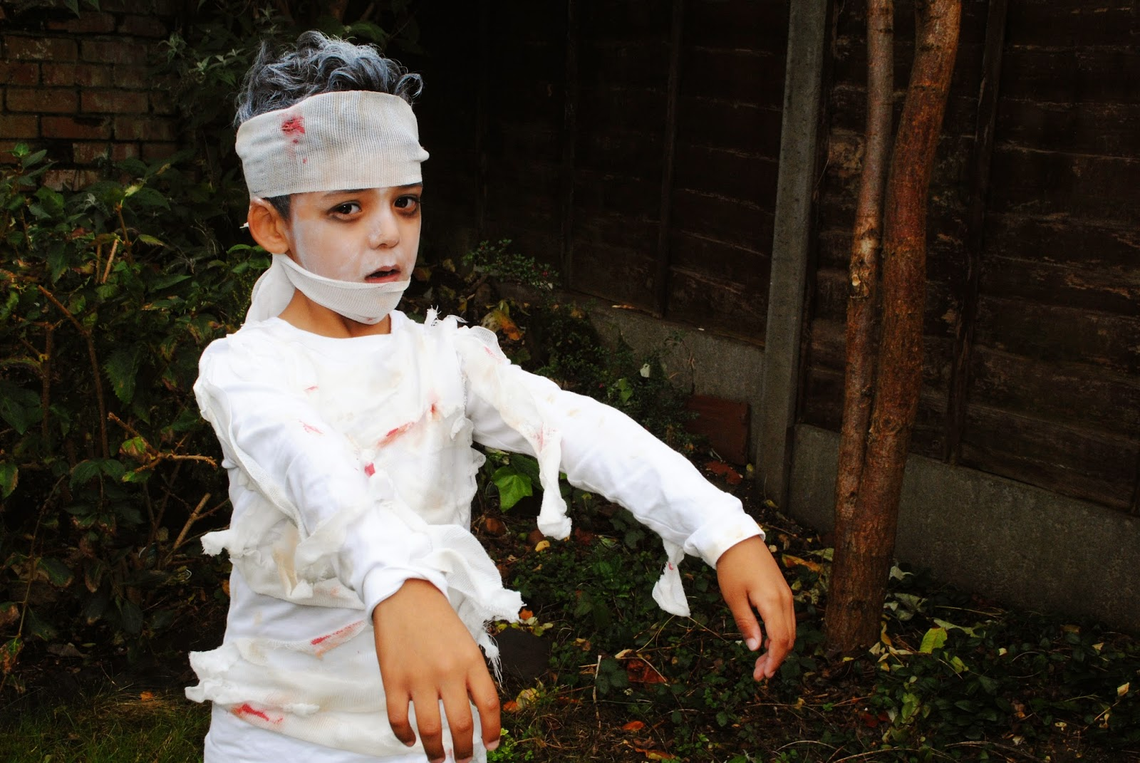 No Sew DIY Mummy Costume