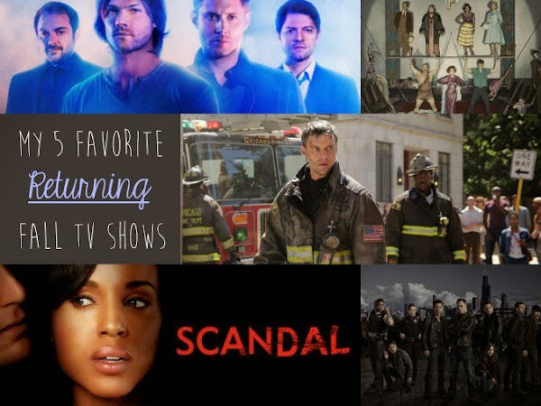 The 5 Returning Fall Shows I'm Most Excited About