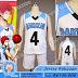 Jersey All Kuroko No Basket Rakuzan, Seirin, Yosen, Shutoku, Gakuen