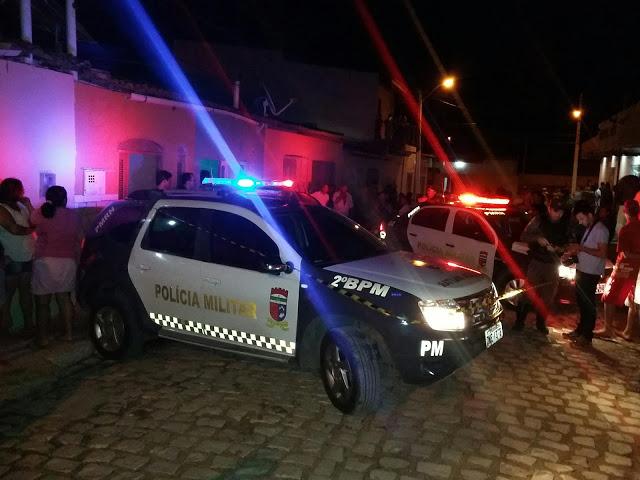 Mais um crime de homicídio na cidade de Mossoró.