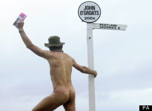 El caminante desnudo