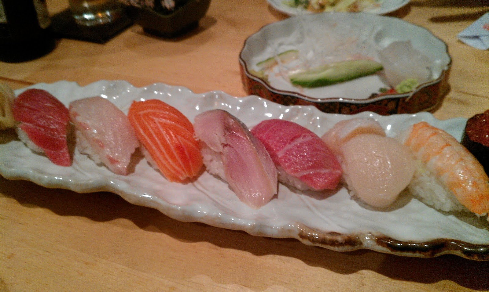Peckishism Ebi Sushi