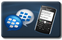 BlackBerry Messenger: Add a contact by scanning the barcode