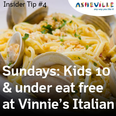 Asheville Insider Tip: Vinnie's Neighborhood Italian
