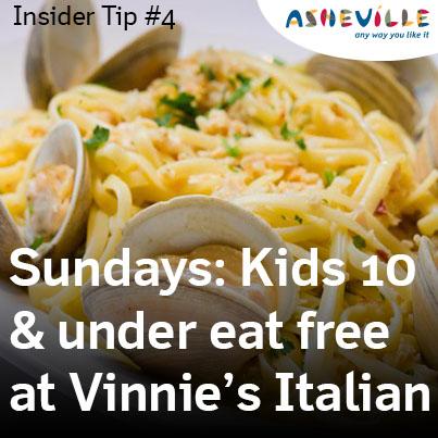 Asheville Insider Tip: Vinnie's Neighborhood Italian