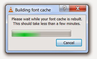 Fix-Building-Font-Cache-Error-VLC-Media-Player