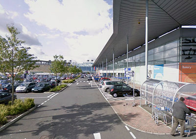 The magnificent Silverburn Shopping Centre