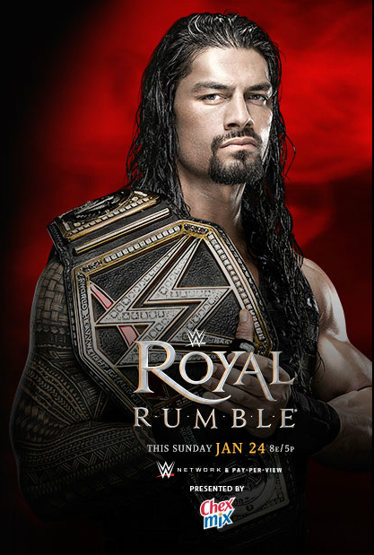 WWE, Royal Rumble 2016, Royal Rumble, Matches, Results, Photos, Predictions, Reviews, Images, Pictures, 24 January 2016, Amway Center, Orlando, Florida, Chex Mix, Participants, Contestants, Roman Reigns, Brock Lesnar,