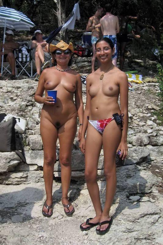 Nudist lady photo