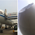 China UFO : Air China Plane Collides With Unknown Object