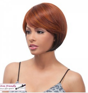 Its a Wig Synthetic Full Cap Wig FC Perm Yaki Chic