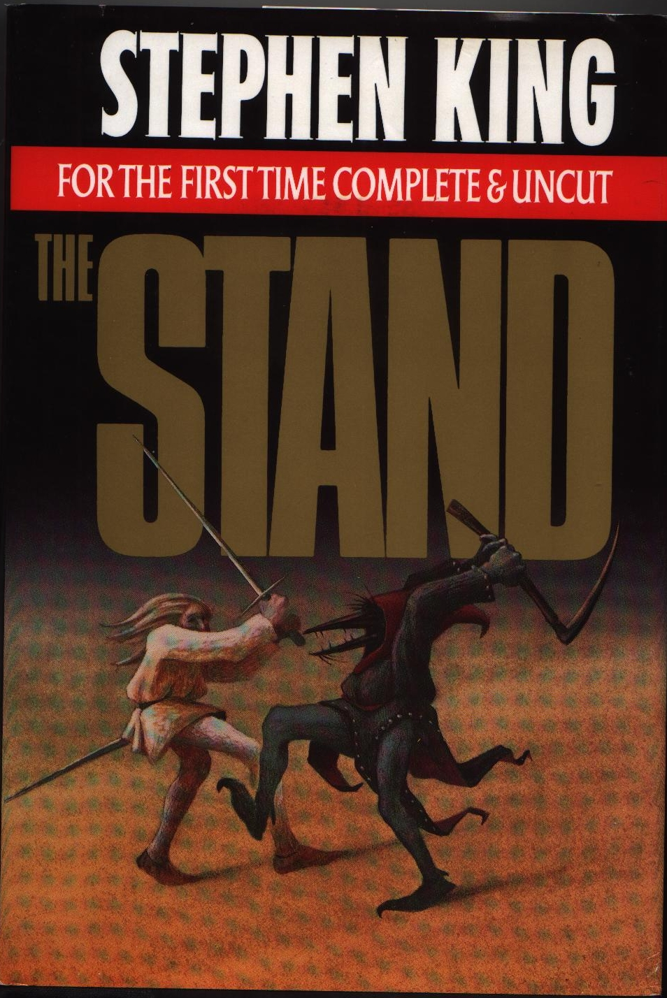 a summary of the stand a novel by stephen king