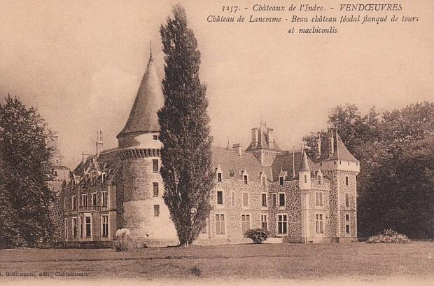 Zamek w Lancosme
