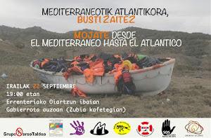 Viernes 22 acto solidario con los refugiadxs en Errenteria