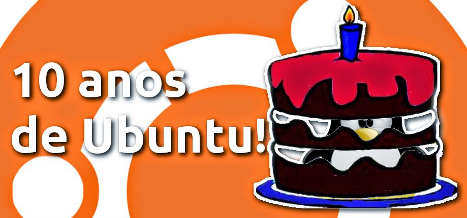 Ubuntu completa 10 anos