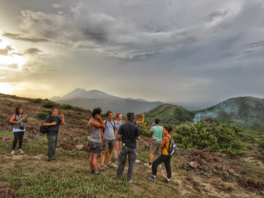 Treking- volcán- Telica