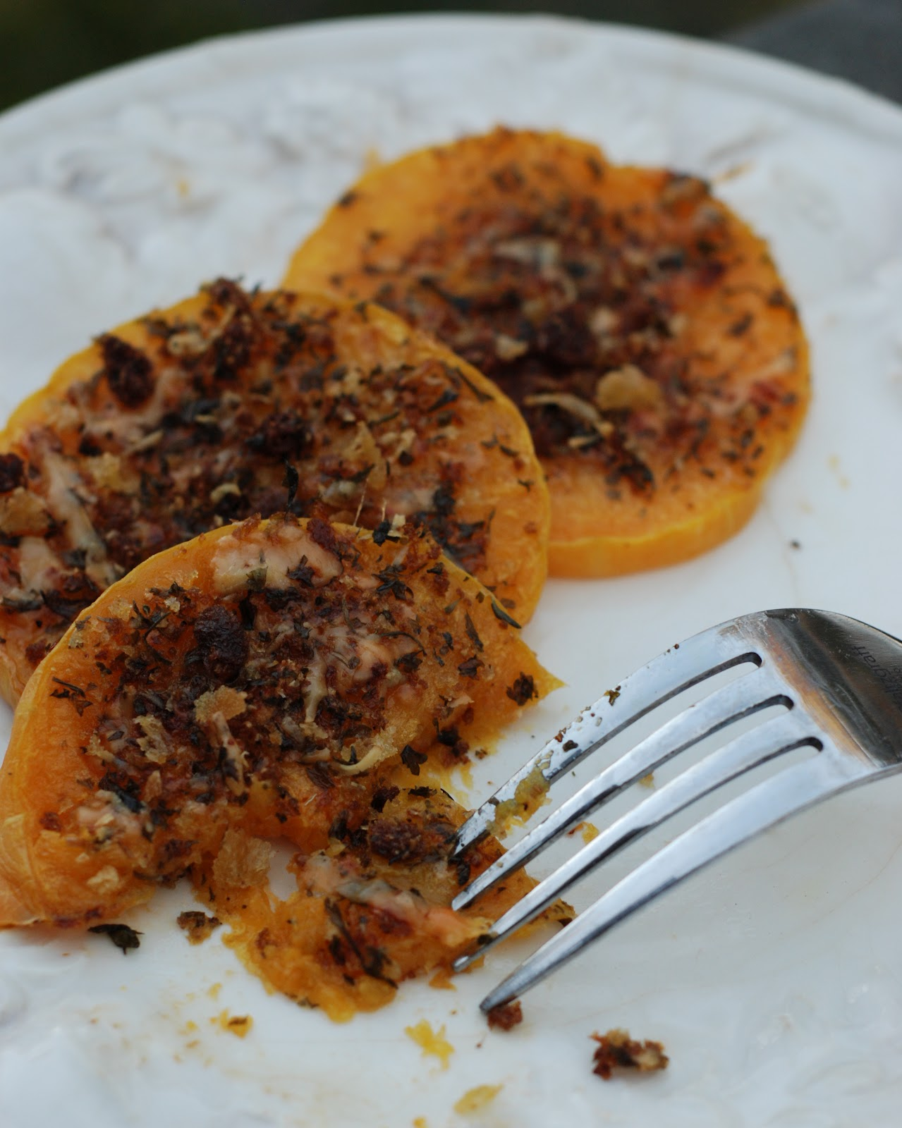 Chickenville: Crusted Butternut Squash Wedges