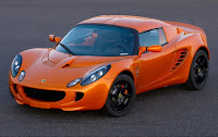 Lotus Elise orange