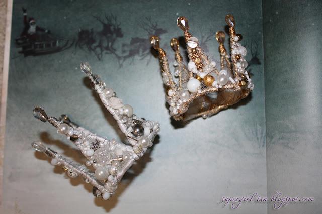 корона с камушками