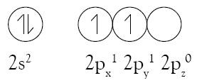 Elektron valensi pada atom karbon