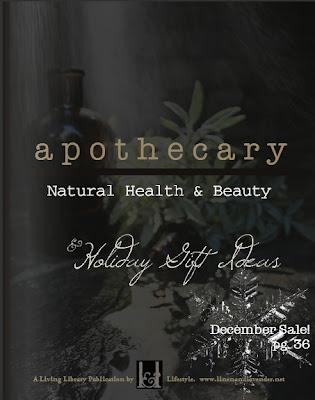a p o t h e c a r y : Natural Health & Beauty by linenandlavender.net - http://glossi.com/linenlavender/48340-a-p-o-t-h-e-c-a-r-y-natural-health-and-beauty