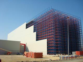 Rehabilitar cubiertas naves industriales y edificios - Fachada nave industrial ...