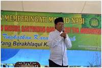 Bupati Lampung Tengah Beri Bantuan  Spontanitas Kepada TPA Ar-Rahman