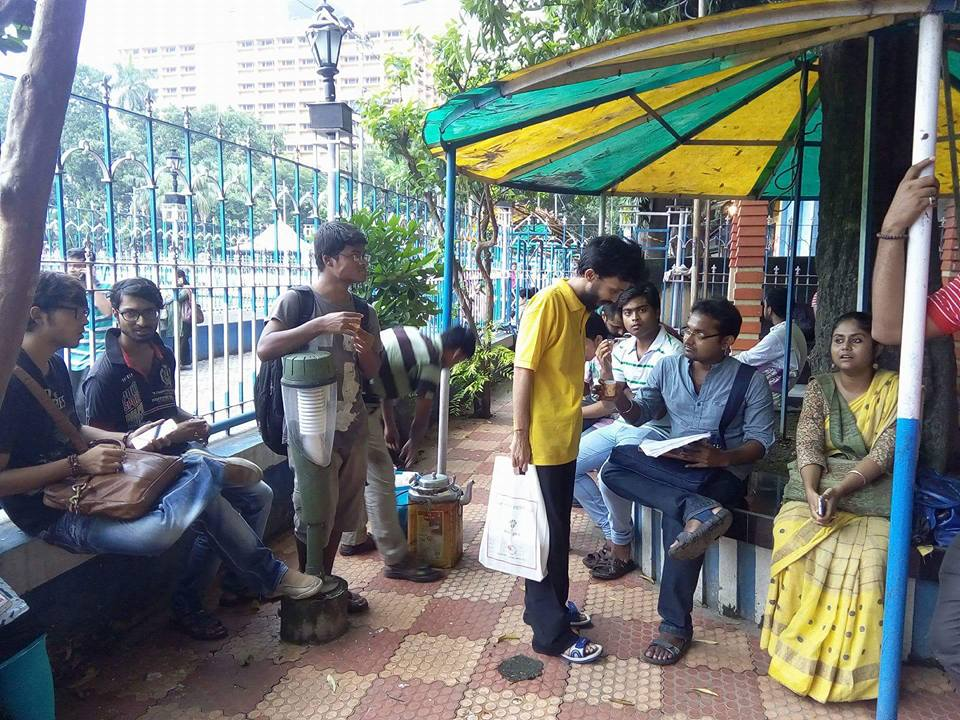 First Kolkata Bengali Poetry Slam at College Square