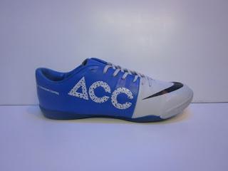 Sepatu Nike Mercurial Acc Murah, Mercurial biru Putih